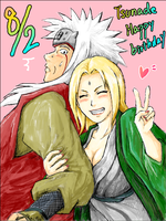 JIRAIYA AND TSUNADE by JIRANARU