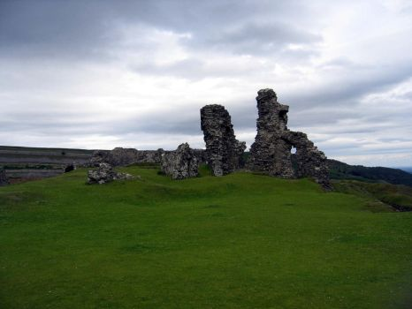 Wales: Castell Dinas Bran I by Vania-Butterfly