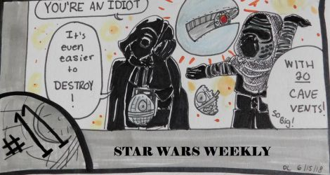STAR WARS WEEKLY #11 by evangeline40003