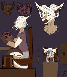Sketch page Ahster by EtoileUndead