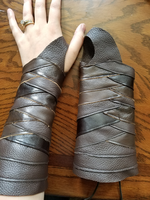 Leather Bracer 3.2- Ranger Bracer by CaptainMorganTeague