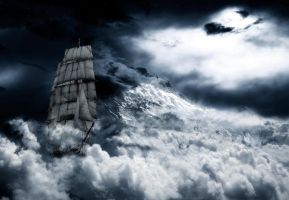 Riding the storm by Fredh