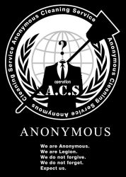 Anonymous Cleaning Service #OpACS - B by maggiemgill