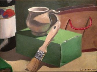 Still life with green box by 7AirGoddess3