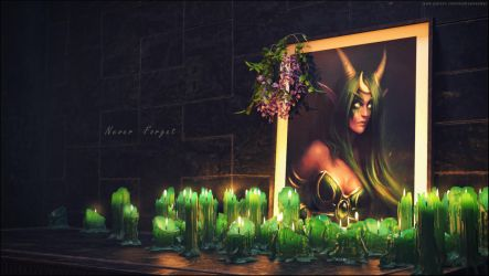 Ysera Memorial. by imaDreamwalker
