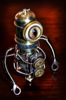 Steampunk Minion Robot by CatherinetteRings