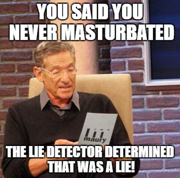 Maury Lie Detector-You Never by EarWaxKid