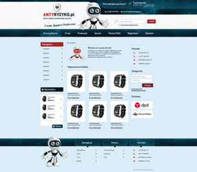 AntyRyzyko.pl - Electronic online shop by miguslaw