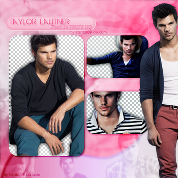 Taylor Lautner | PNG pack |Free! by Karitol89