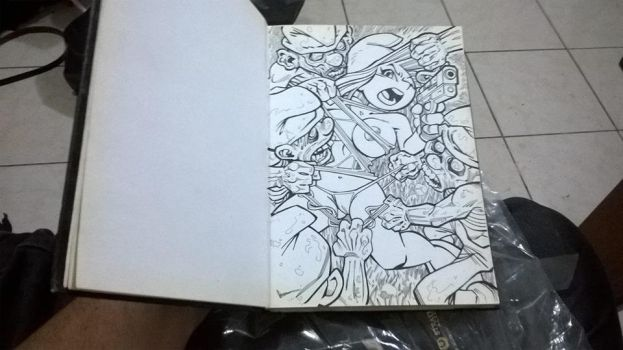 Original en mi Sketchbook by POLO-JASSO