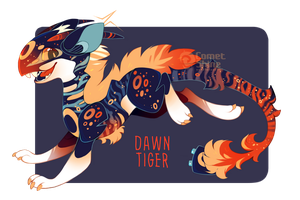 Dawn Tiger Xtricitiria - Closed by CometShine