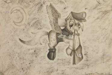 Derby, the ghosting mailmare by TurquoiseThought