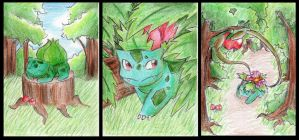 Pokemon 1-3 by DynamicFlamez