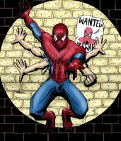six armed spiderman by camillo1988