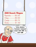 ASB Snack Wagon Advertisement by PulseMap