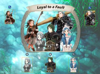 ~Fire Emblem Heroes: Loyal to a Fault Banner~ by KunaiKevlin