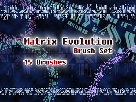 Digimon Tamers - Matrix Evolution Brush Set by NelaNequin