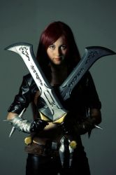 Katarina Classic League of Legends by Melorine93