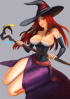 Sorceror - Dragon's Crown by BADCOMPZERO