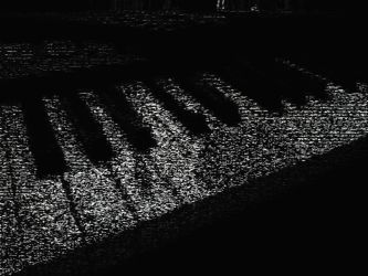 Piano Abstract by 212b