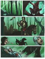 Comic page by malverro
