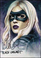 Black Canary -autographed by DavidDeb