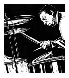 Tributo to Buddy Rich by Slovantes