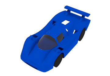 Hot Wheels Sol-Aire CX4 3D Model (WIP) by Octoman75