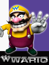 Melee: Wario by Mach-7