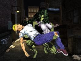She Hulk to the Rescue by bloodhound570