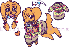 Dog Adopt Auction! CLOSED by Lilli-Pop-Designs