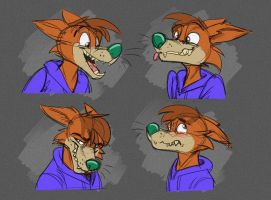 Commission: Dunhall's Expression Sheet by Temiree