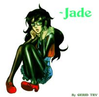 Homestuck - Jade by Gerid