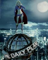 Supergirl Saves The Planet by PaulSuttonArt