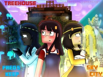 Minecraft Story Mode : Three Parts of the World by TheMaroonLightning