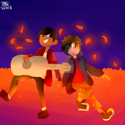 Hiro X Miguel by TwiDash-FTW
