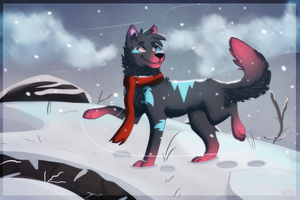 A Winter Stroll by Krissi2197