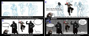 Tutorial: How to draw a comic by IMAGINeye