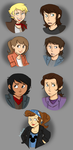 The Outsiders: Genderbent by lewisrockets