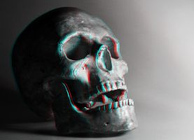 Skull 3-D conversion by MVRamsey