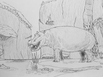Monster Island Expanded: Valley Hippo by Trendorman