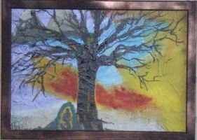 Buddha Tree- SOLD by JFuchs