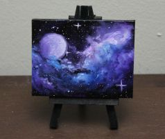 Mini Purple Moon by crazycolleeny