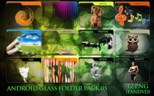 Android Glass Folder Pack 05 by fandvd