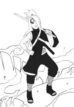 Deidara New Suit: 2nd Version by Hasagi-chan