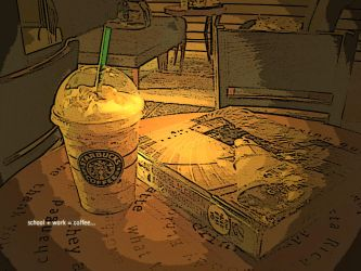 coffee after a tiring day.. by nenxa