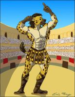 Gladiator Show Off by RuntyTiger