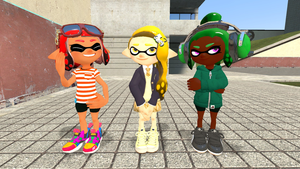 Splat Kids New Hairstyles by bravebravesirbrian