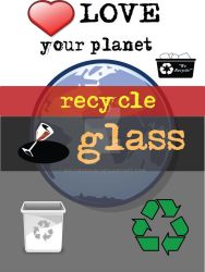 Recycle: glass by M0lybdenum