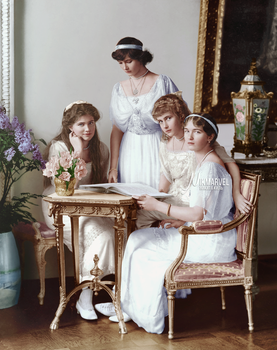 COLOR: Grand Duchesses of Russia (OTMA) by Nikmarvel